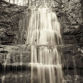 Sherman Falls In Sepia by Phill Doherty