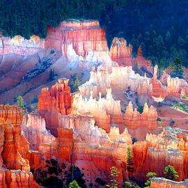 Shining City Of Sandstone by Douglas Taylor