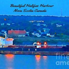John Malone - Ship in Beautiful Halifax Harbour