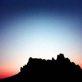 Shiprock At Dusk by Douglas Taylor