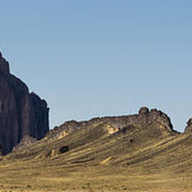 Shiprock Panorama - North West New Mexico by Brian Harig