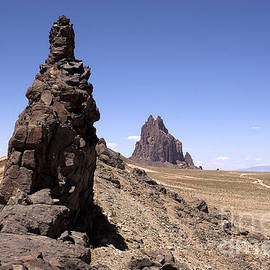 Shiprock - New Mexico by Steven Ralser