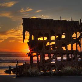 Mark Kiver - Shipwreck Sunburst