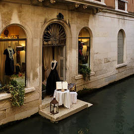 Shopping for a Black Dress in Venice Italy by Georgia Mizuleva