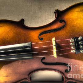 Sideways Violin - Warm by J M Lister