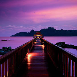 Silent Sunset In Pulau Langkawi by 35007