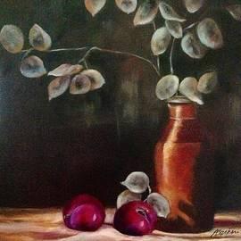 Anne Barberi - Silver Dollar Still Life