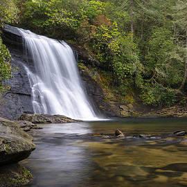 Dave Allen - Silver Run Falls Waterfall Cashiers NC Blue Ridge Mountains