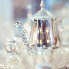 Jenny Rainbow - Silver Teapot
