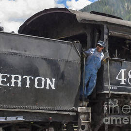 Silverton 481 Train by Janice Pariza