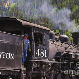 Silverton Engine 481 by Janice Pariza