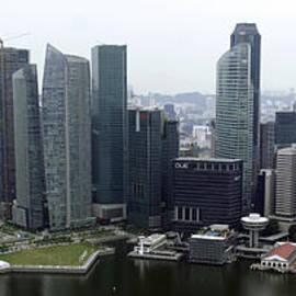 Singapore Skyline by Shoal Hollingsworth
