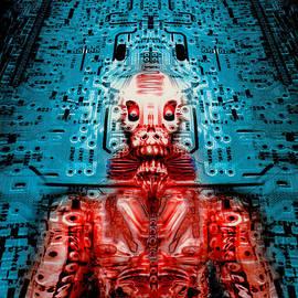 Sir Circuity's sartorial cybernetics by Del Gaizo