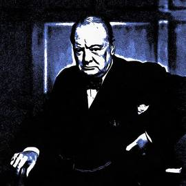Sir Winston Churchill by Maciek Froncisz
