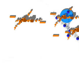 Y-axis lab - Site Plan in Orange and Blue