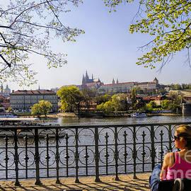Brenda Kean - Sitting by the River Vltava