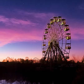 Six Flags Sunrise by Kent Moore