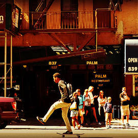 Miriam Danar - Skateboard - Life in New York - New York City Street Scene