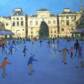 Andrew Macara - Skaters  Somerset House