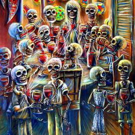 Heather Calderon - Skeleton Wine Party