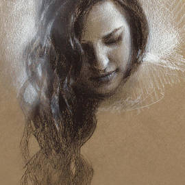Sketch of Samantha by K Whitworth