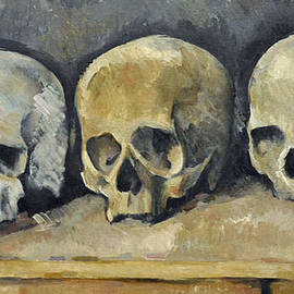 Paul  Cezanne - Skulls