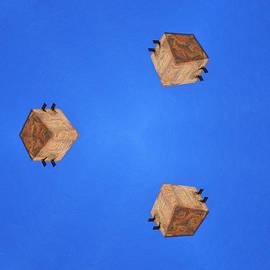 Sky Fortress Progression 1 by Dominic Piperata