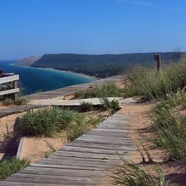 Dan Sproul - Sleeping Bear Dunes From Empire Bluffs