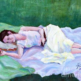 Sleeping Girl by Janet Felts