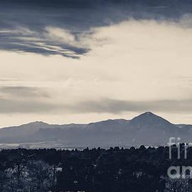 Sleeping Ute Mountain by Janice Pariza