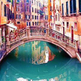 Marian Voicu - Small Bridge in Venice