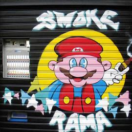 Smoke Rama Door by Nicholas Romano