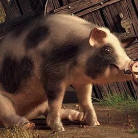 Smoking Ham by Daniel Eskridge