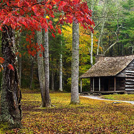 Smoky Mountain Cabin by Eric Albright