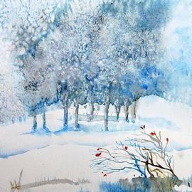 Trudi Doyle - Snow Blizzard in the Grove