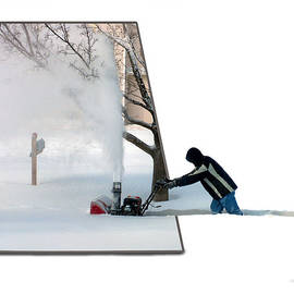 Snow Blower by Thomas Woolworth