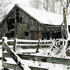 Kimberleigh Ladd - Snow Covered Barn