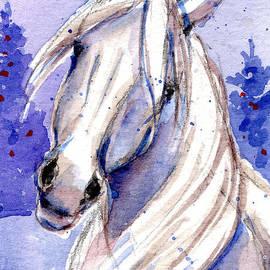 Snow Pony 3 by Linda L Martin