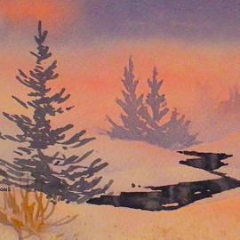 Snow Scene by Teresa Ascone
