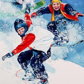 Hanne Lore Koehler - Snowboard Super Heroes
