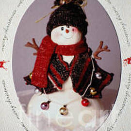 Sharon Elliott - Snowman Merry Christmas