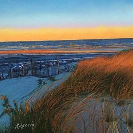 Harvey Rogosin - Snowy Dunes....Winters Sunrise