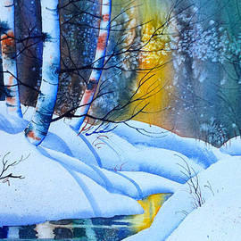 Snowy Forest by Teresa Ascone