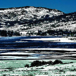 Snowy Hillsides by Photographic Art by Russel Ray Photos