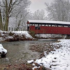 Gene Walls - Snowy Muncy Creek Crossing