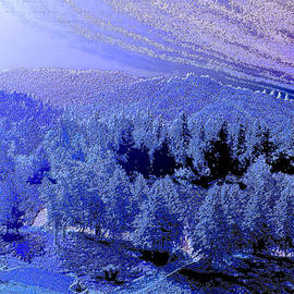 Snowy Night in Winchester by Michele Avanti