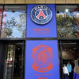 Richard Rosenshein - Soccer Store On Champs Elysees In Paris France