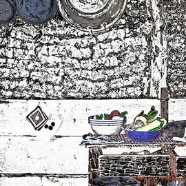Sodhouse Kitchen by Judy Hall-Folde
