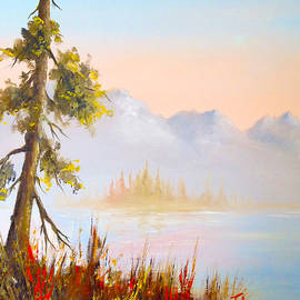 Solitary Spruce by Teresa Ascone