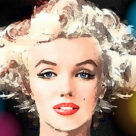 Marilyn - Some Like It Hot by Hartmut Jager